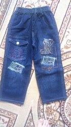 детский джинсовый костюм новый
